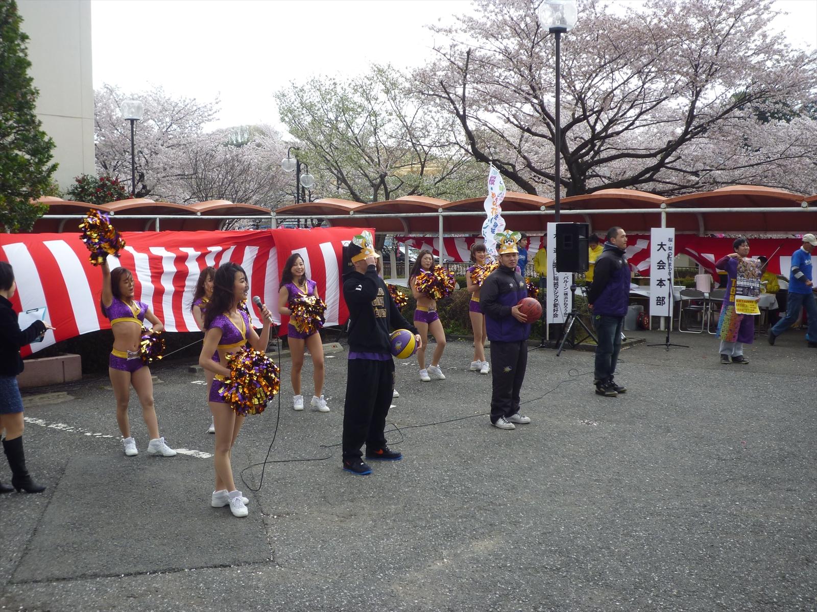 東京サンレーヴス・チアダンス